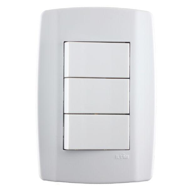 Conjunto 3 Interruptores
