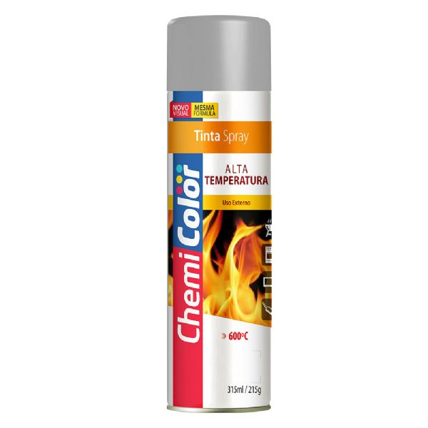 Tinta Spray Alta Temperatura
